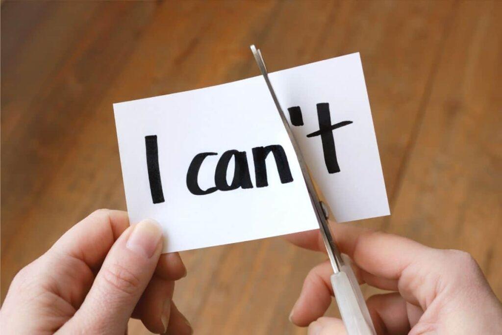 I can change my mindset