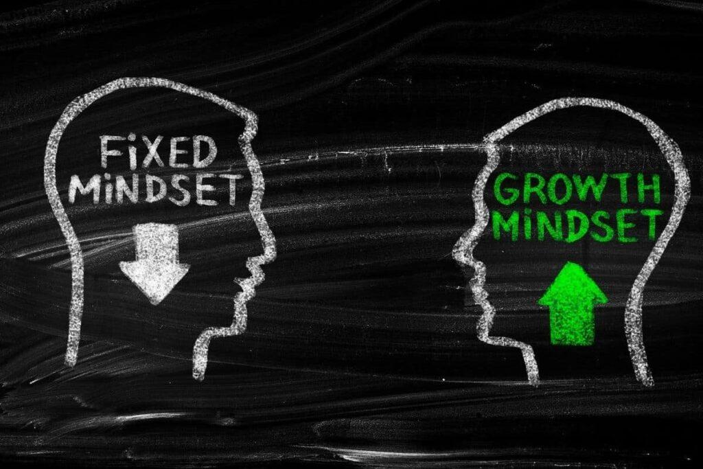 ixed mindset vs growth mindset