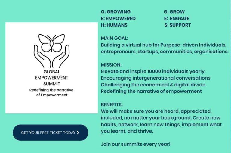 global empowerment summit andrea zsapka