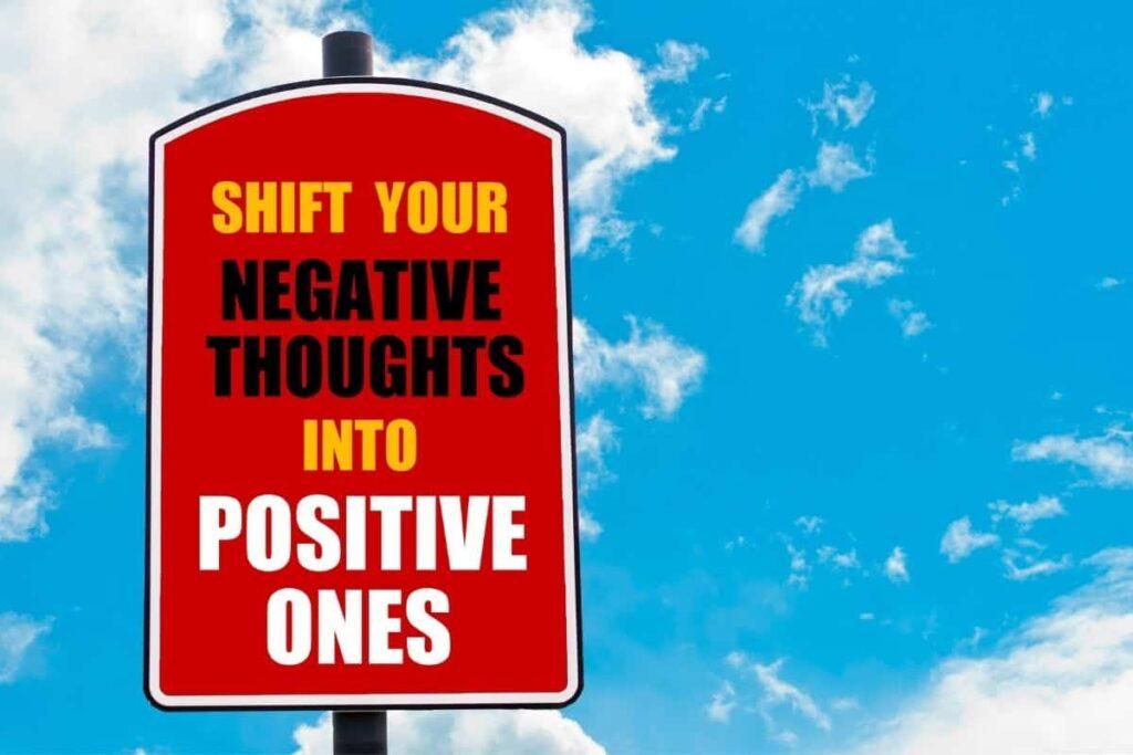 how do i change my mindset to positive